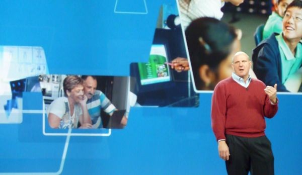 Ballmer na CES: Project Natal i tablety z Windows 7 w tym roku